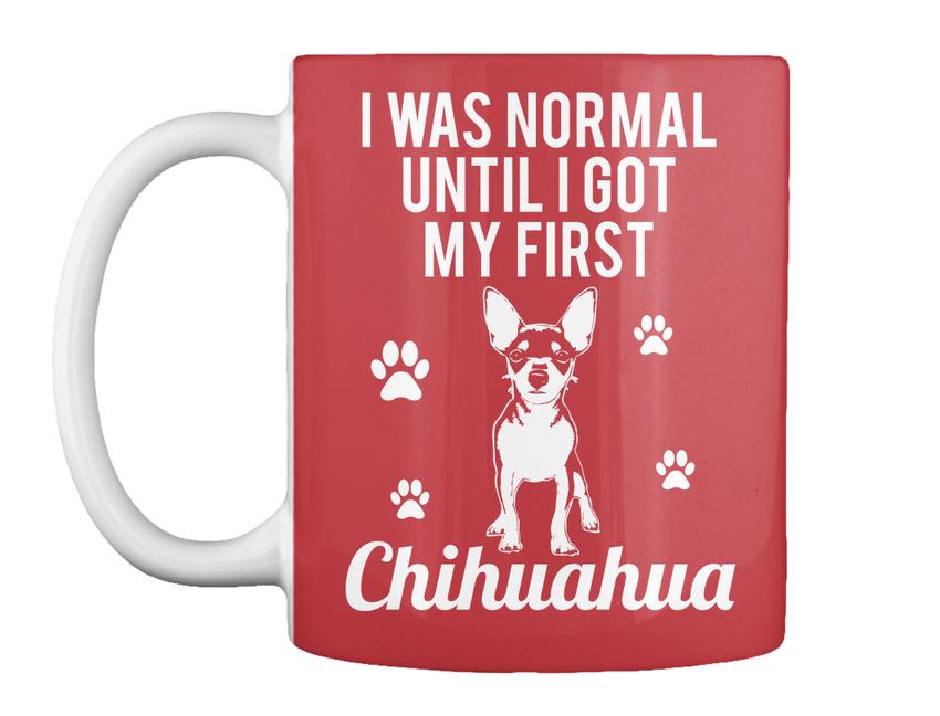miniature 7 - Until Got First Chihuahua Gift Coffee Mug