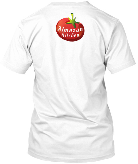 Almazan Kitchen White T-Shirt Back