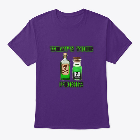 Jbsc Whats Your Poison Purple T-Shirt Front
