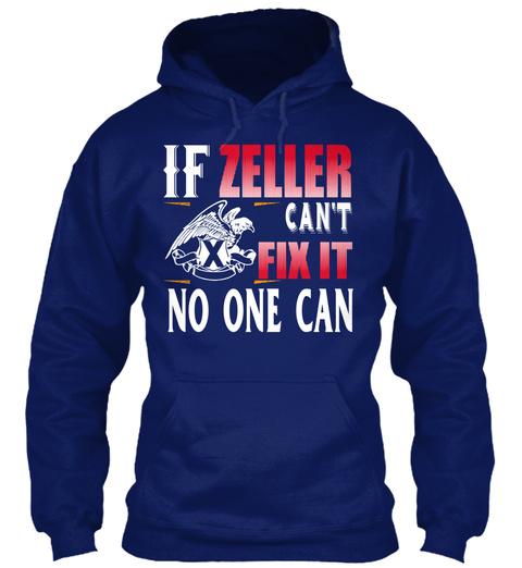 If Zeller Can't Fix Oxford Navy T-Shirt Front