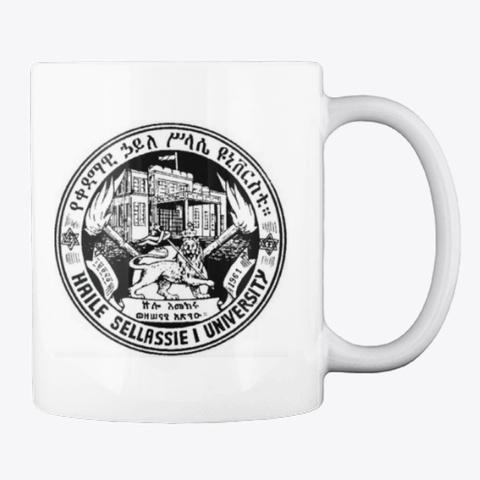 Qedamawi Haile Selassie Classic  Mug White Mug Back