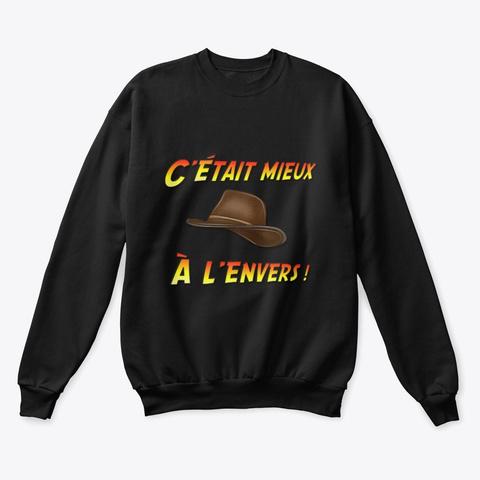 Sweat Aventurier Black T-Shirt Front