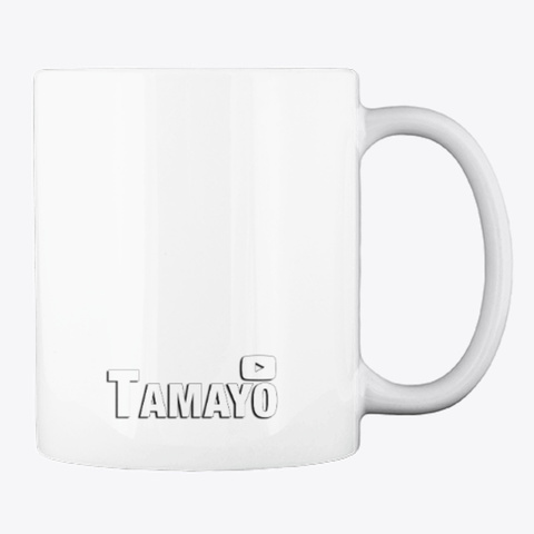 Taza Tamayo (Diseño @Nuriagoms) White T-Shirt Back