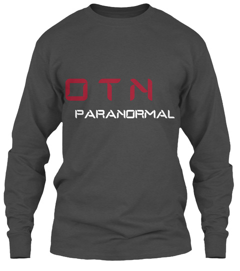 O T N Paranormal Charcoal T-Shirt Front