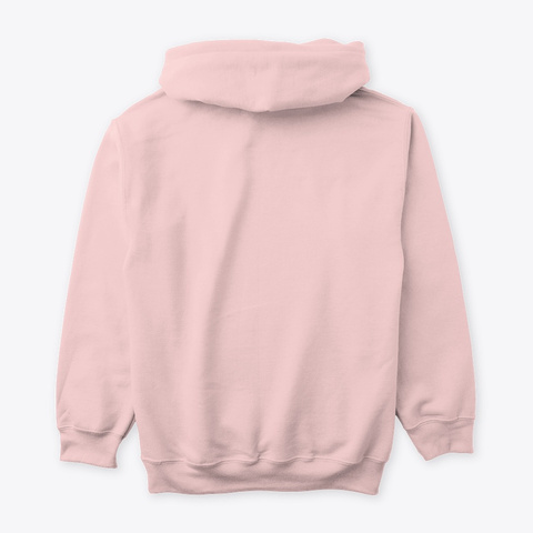 """Ethereal"" Hoodie Light Pink T-Shirt Back"
