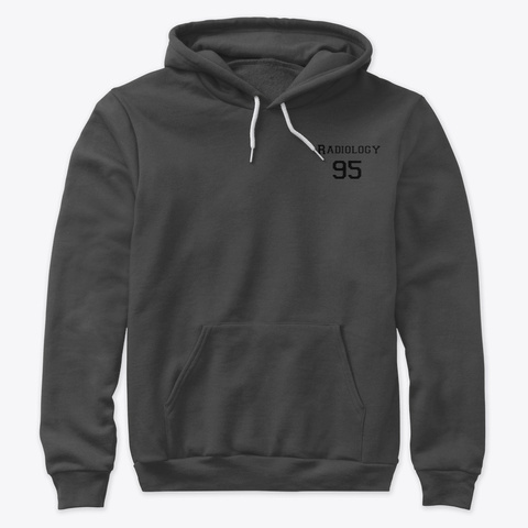 Radiology 95 Dark Grey Heather T-Shirt Front