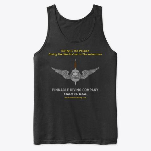 Pdc Passion Tank Black T-Shirt Front