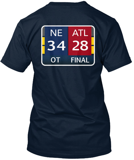 Ne Atl 34 28 Ot Final New Navy T-Shirt Back
