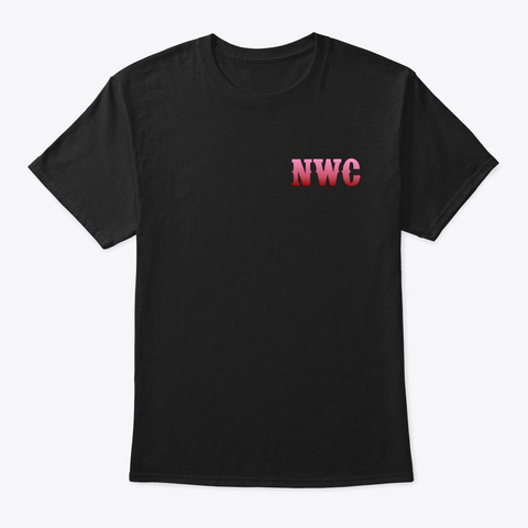 Nwc Panther  Black T-Shirt Front
