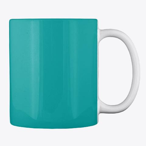 Coffee & Pole Dancing Mug Aqua T-Shirt Back