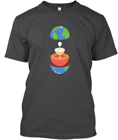 Layers Earth V [Int] #Sfsf Dark Grey Heather T-Shirt Front