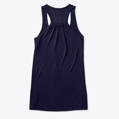 Back of Special Edition Women's Flowy Tank Top