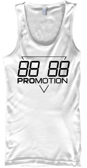 88 88 Promotion White T-Shirt Front