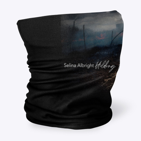 """Selina Albright """"Holding On"""" Collection Black T-Shirt Side"""
