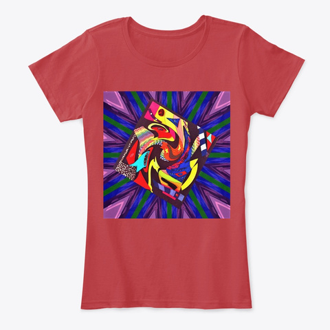 Fantasy Classic Red T-Shirt Front