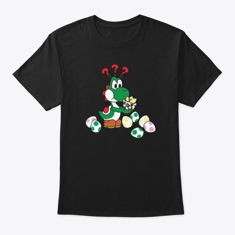 Easter | Easter Eggs | Surprise | Cute Black T-Shirt Front