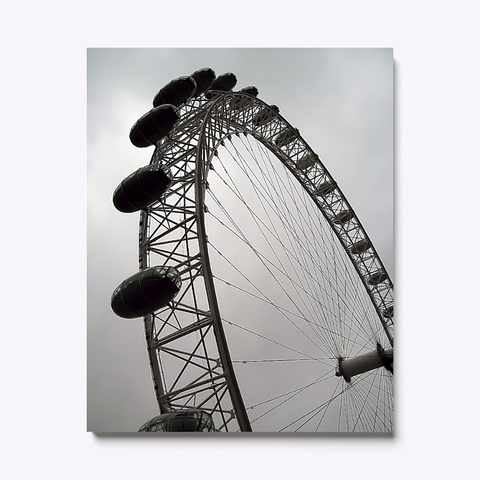 Ferris Wheel White T-Shirt Front