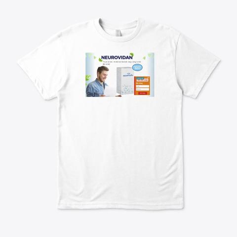 Neurovidan White T-Shirt Front