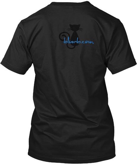 Blurb.Com Black T-Shirt Back