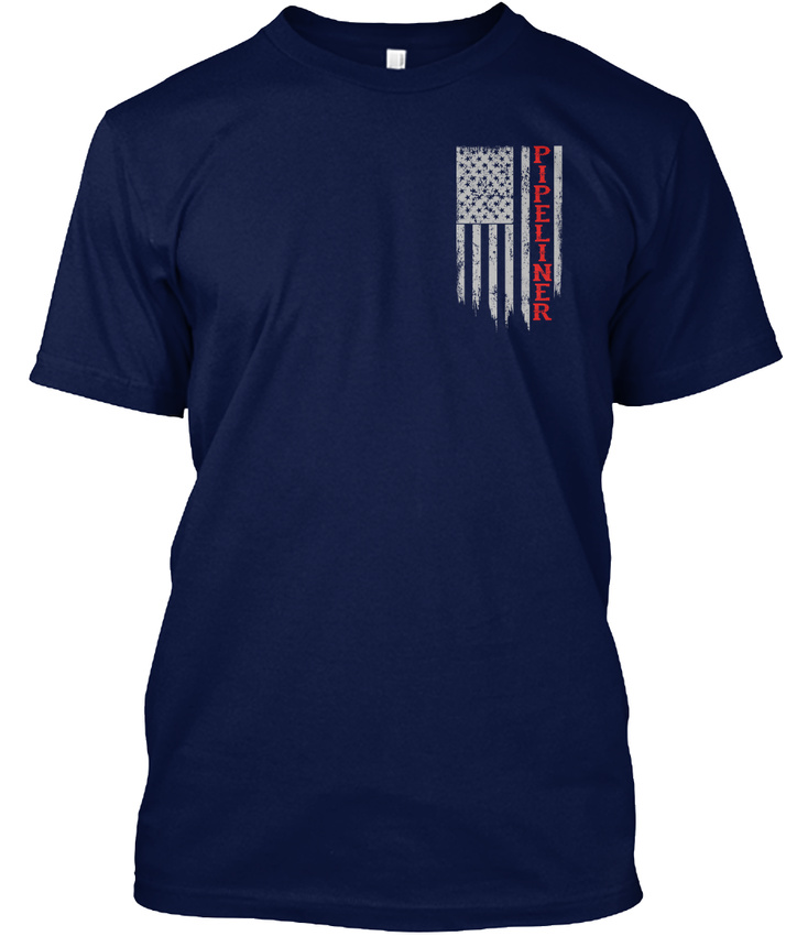 Pipeliner-Us-Flag-Hanes-Tagless-Tee-T-Shirt thumbnail 12