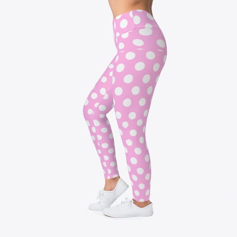 Pinky Leggings Standard T-Shirt Left