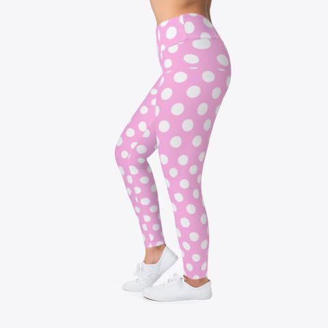 Pinky Leggings Standard T-Shirt Left