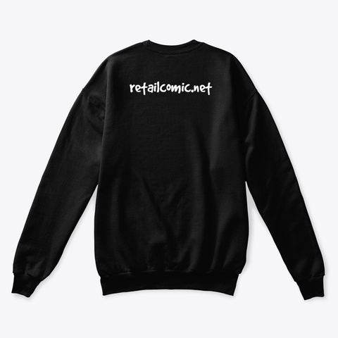 Ferocious Guard Dog Black Sweatshirt Back