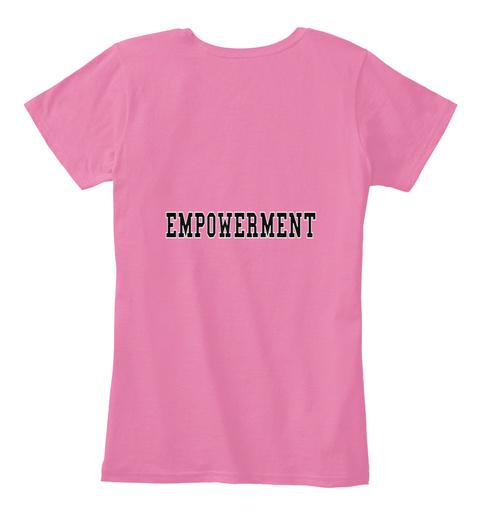 Empowerment True Pink T-Shirt Back