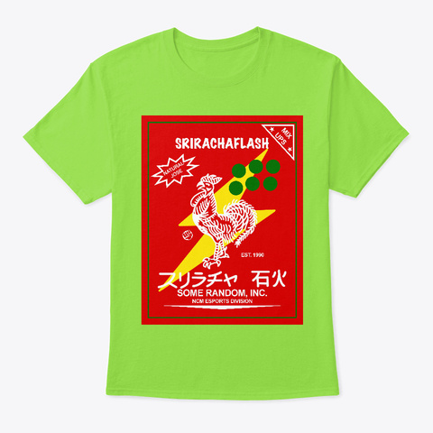 Sriracha By H Dmexiqtioner Lime Kaos Front