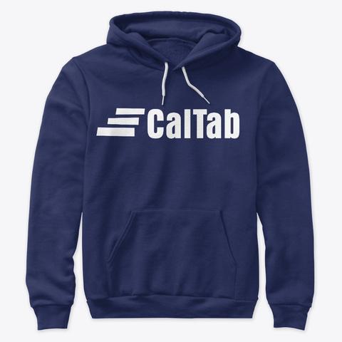 Cal Tab Clothing Navy Sweatshirt Front