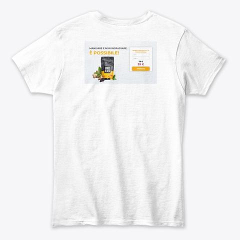 Ginge Black Italy White T-Shirt Back