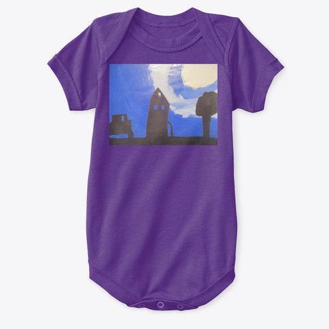 Y Ar T Purple T-Shirt Front