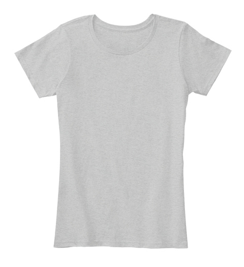 """Crop Dusting"" Apology (Women's / Back) Light Heather Grey T-Shirt Front"
