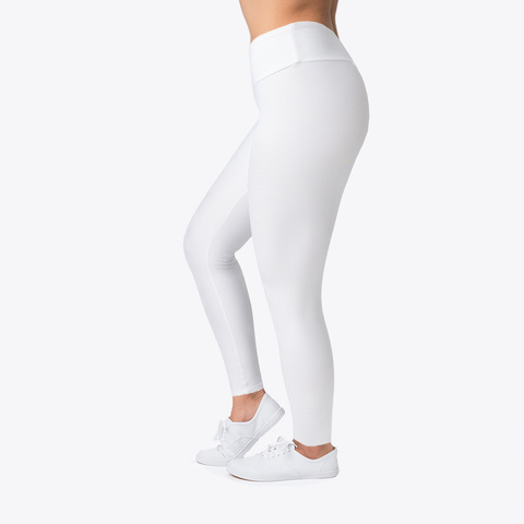 Arbrianna (Orange Font) Leggings  Standard T-Shirt Left
