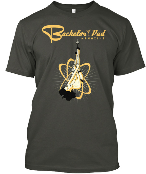 Bachelor Pad Magazine Smoke Gray T-Shirt Front