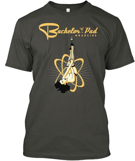 Bachelor Pad Magazine Smoke Gray T-Shirt Front