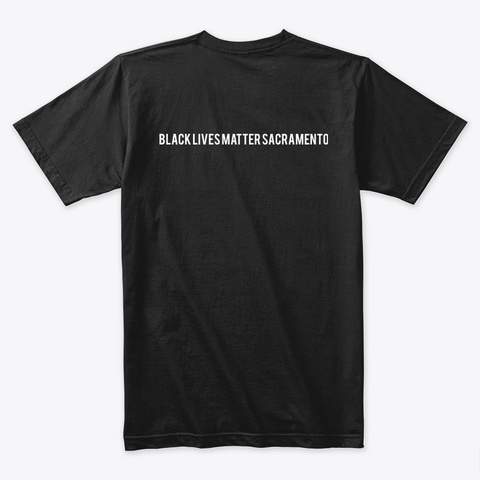 #Reclaim Mlk T Shirts And Hoodies Black T-Shirt Back