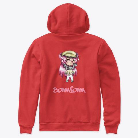 Samfam Gl Red T-Shirt Back
