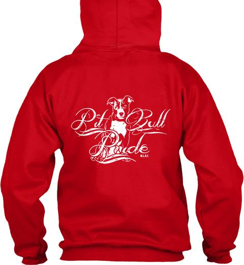 Pt Bull Pride Red T-Shirt Back