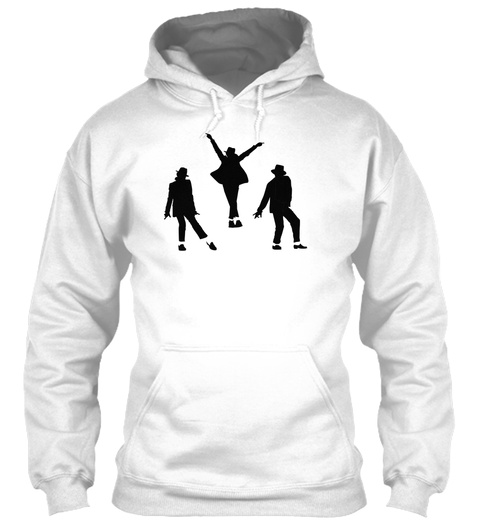 Hoodie Dancers White T-Shirt Front