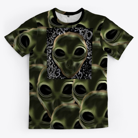 Chapter 13 In Outer Space Black T-Shirt Front