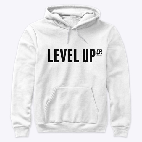 Level Up ! White T-Shirt Front