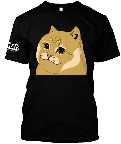 Hiso Cate Hisokeee Black T-Shirt Front