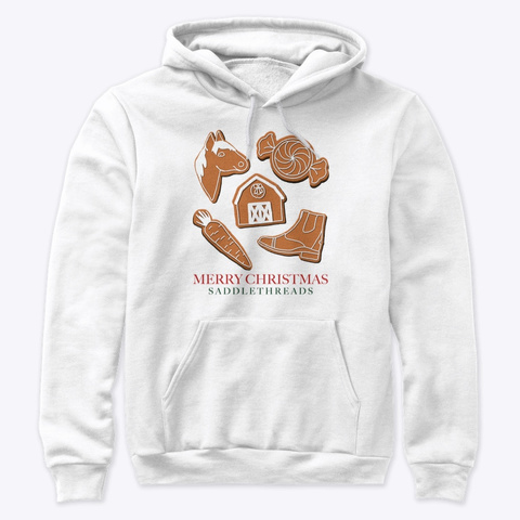 Equestrian Gingerbread Cookies White T-Shirt Front