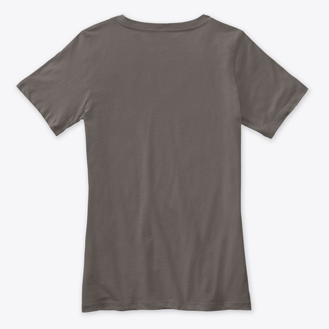 Funny Grey Wolf Christmas T Shirt Santa Asphalt T-Shirt Back