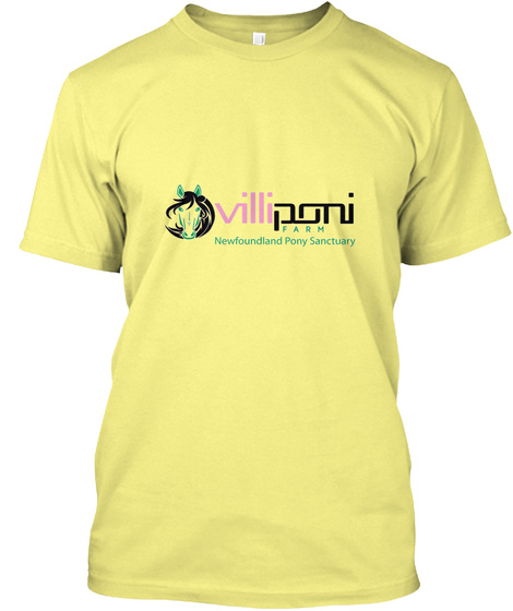 Conservationist   Ammy Lemon Yellow  T-Shirt Front