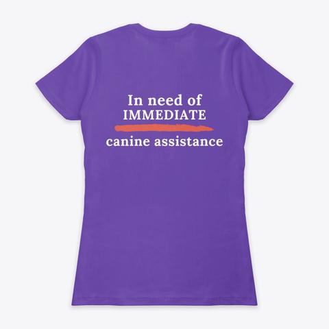 The Epic Lost Hide Purple Rush T-Shirt Back