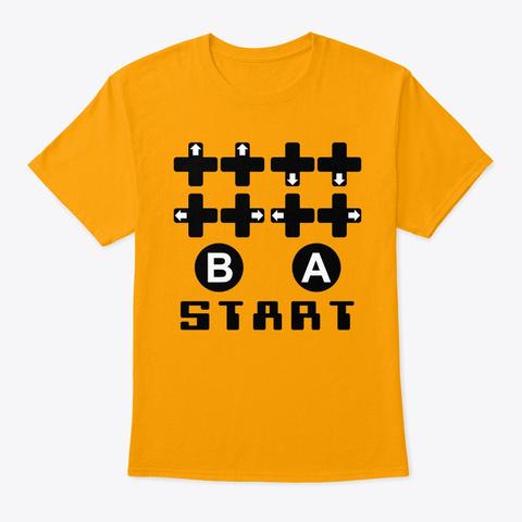 30 Lives Code Gold T-Shirt Front