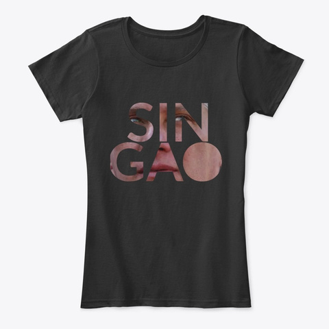 Diaz Canel Sin Gao Black T-Shirt Front