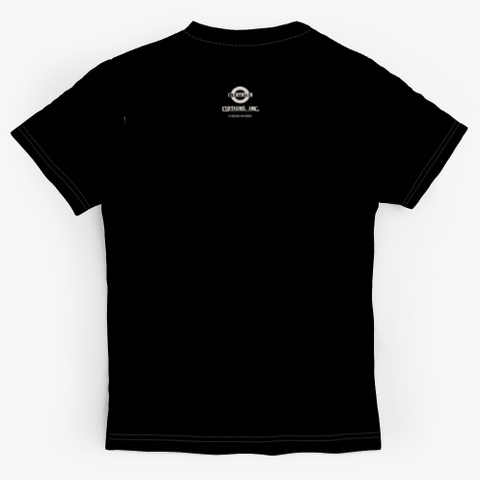 Blunt Clothing Rude Boy Black T-Shirt Back